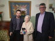 Μαίρη Λίντα: Η πρώτη φωτογραφία μέσα από το γηροκομείο