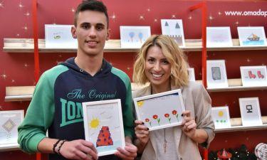 Μαρία Ηλιάκη και Αλέξης Ιωακειμίδης αναλαμβάνουν δράση για τα Ευχοστολίδια