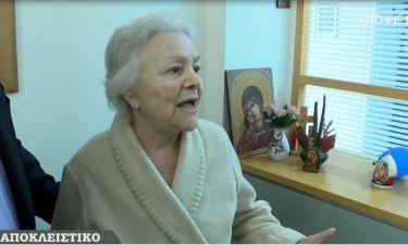 Μαίρη Λίντα: Μιλά πρώτη φορά μέσα από το Γηροκομείο Αθηνών και στέλνει το μήνυμά της