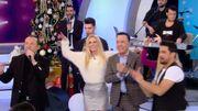 Η Κατερίνα Καινούργιου κάνει Παραμονή Χριστούγεννων με τον Λευτέρη Πανταζή και τον Νίκο Ζωίδάκη
