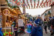 Η επέλαση των ξωτικών στο Χριστουγεννιάτικο χωριό στην Τεχνόπολη Δήμου Αθηναίων