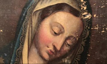 Αποκατάσταση της εικόνας της Παναγίας: Το αποτέλεσμα προκαλεί ανατριχίλα – Βίντεο