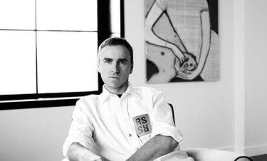 Raf Simons: Αποχωρεί από τον οίκο Calvin Klein
