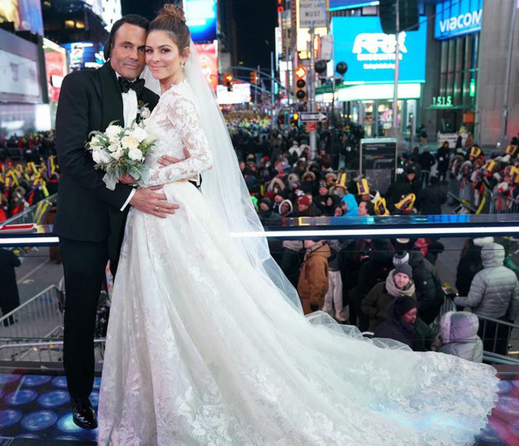 maria menounos marries keven undergaro on nye 05