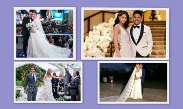 Ανασκόπηση 2018: Οι γάμοι των ξένων celebrities τη χρονιά που πέρασε!