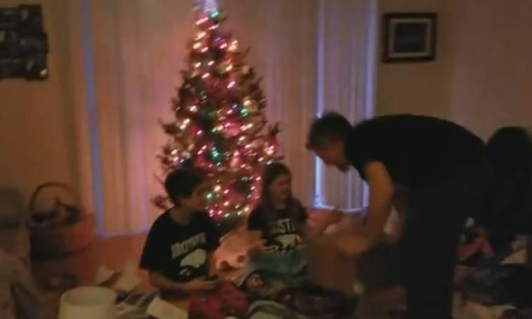 Αυτά τα παιδιά έλαβαν το πιο όμορφο χριστουγεννιάτικο δώρο!