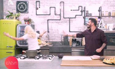 Ελένη Μενεγάκη: Μπήκε στην κουζίνα του Άκη κι έκανε ζημιά!