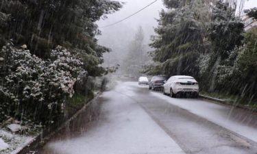 Έκτακτο δελτίο ΕΜΥ: Έρχεται χιονιάς τις επόμενες ώρες - Θα το «στρώσει» και στην Αττική