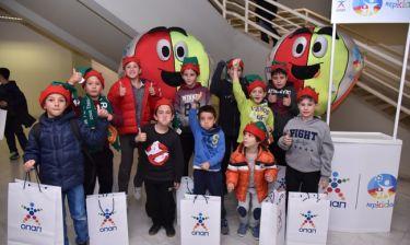 Η «Κερkidα ΟΠΑΠ» μαζί με τον Παναθηναϊκό ΟΠΑΠ στη «Γιορτή του Παιδιού» στο ΟΑΚΑ