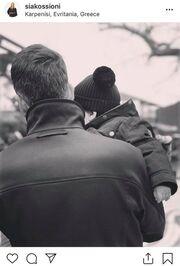 Η Σία Κοσιώνη «ανεβάζει» φωτογραφία με τους άνδρες της ζωής της και... ρίχνει το instagram!