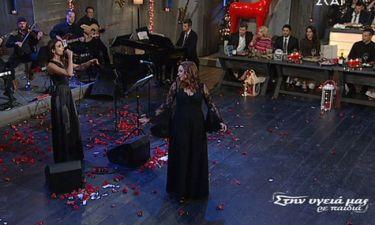 Το αισθησιακό τσιφτετέλι της Χριστίνας Αλεξανιάν στην εκπομπή του Σπύρου Παπαδόπουλου