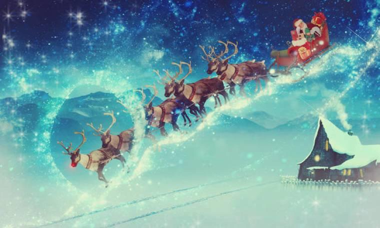 Χριστούγεννα 2018: Γι' αυτό ο Άγιος Βασίλης κυκλοφορεί με έλκηθρο (vid)