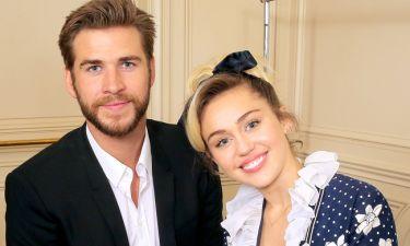 Οι πρώτες φωτογραφίες από το γάμο της Miley Cyrus και του Liam Hemsworth