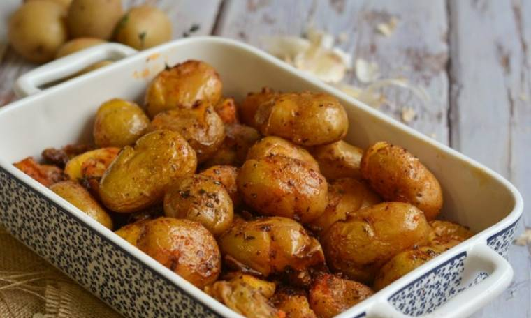 Baby πατάτες φούρνου