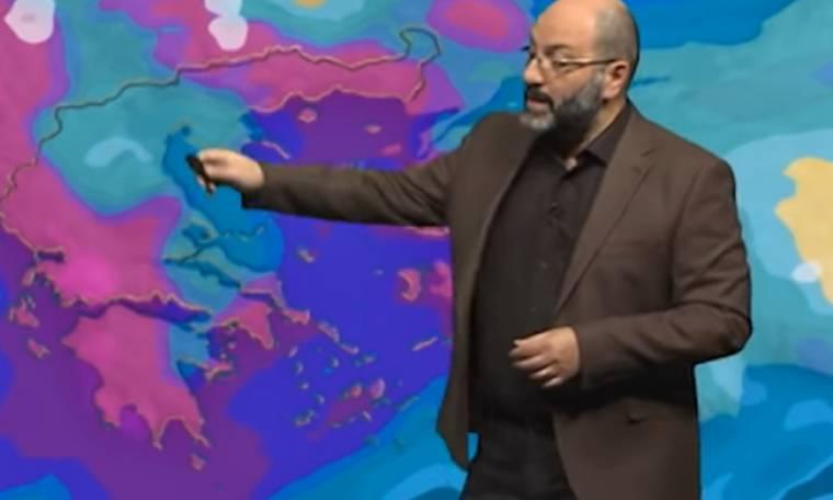 Καιρός: Η ενημέρωση του Σάκη Αρναούτογλου για την ψυχρή εισβολή μετά την Πρωτοχρονιά (Video)