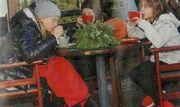 Ελένη Πετρουλάκη: Απόδραση με τις κόρες της στην Αράχοβα