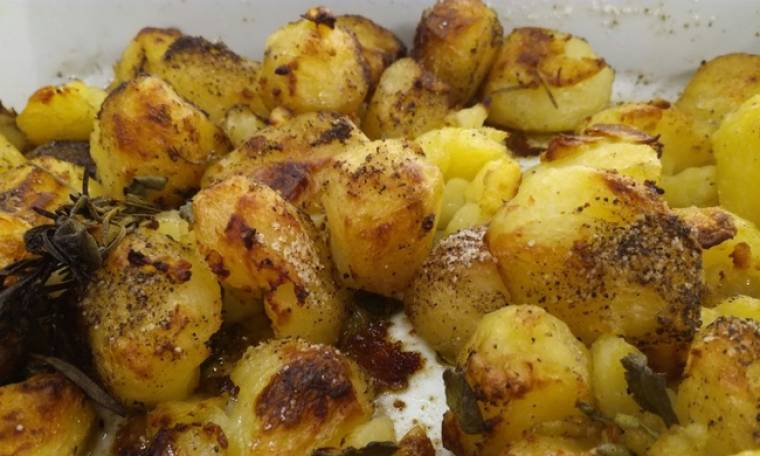 Τραγανές πατάτες φούρνου!