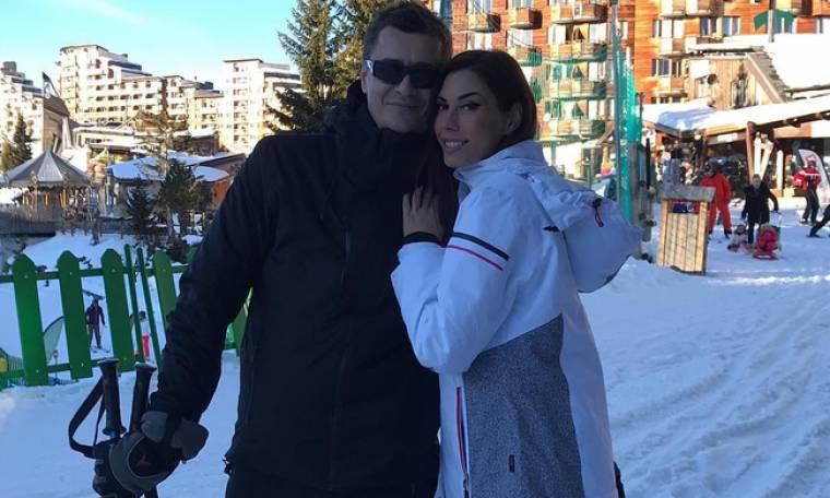 Αντώνης Σρόιτερ - Ιωάννα Μπούκη: Οικογενειακή απόδραση στα χιόνια!