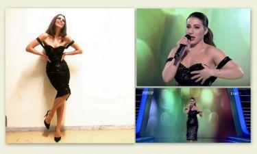 Απίστευτο! Η Μπέτυ Μαγγίρα φόρεσε το ίδιο φόρεμα με την νικήτρια του The Voice!