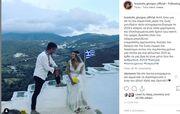 Γιώργος Χρανιώτης: Η φωτό από το γάμο του και οι ευχές του για το νέο έτος