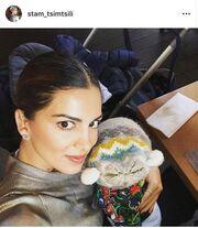 Σταματίνα Τσιμτσιλή: Η φωτογραφία με τον γιο της και ο διάλογος στο instagram με τη Νικολέτα Ράλλη