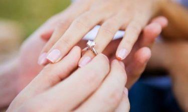 Πρόταση γάμου πριν την αλλαγή του χρόνου!