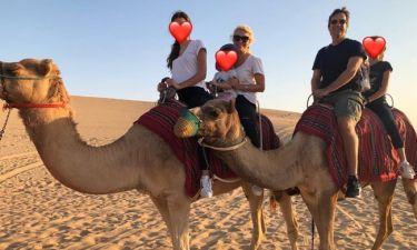 Ελένη Μενεγάκη: Η απάντησή της σε follower για το ύψος της Λάουρας