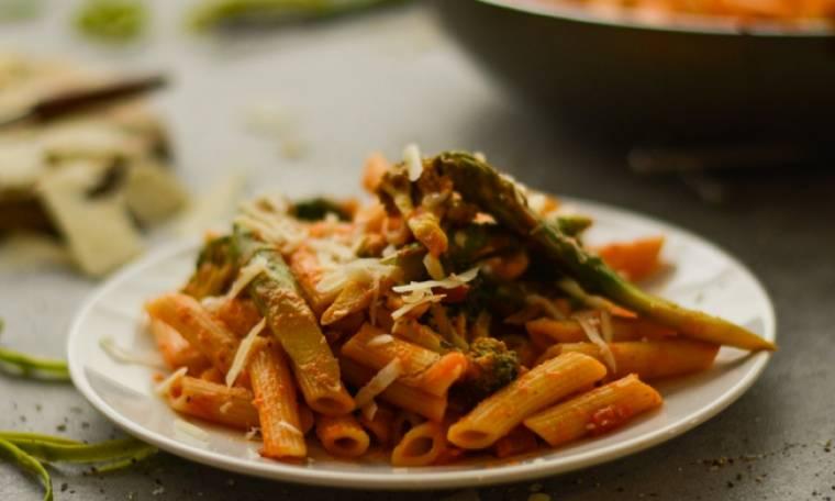 Πένες με λαχανικά