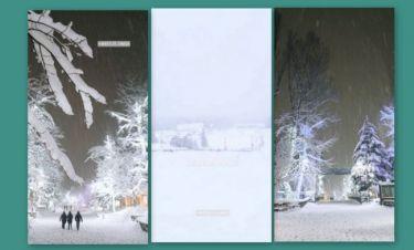 Μαγευτικές εικόνες από το ταξίδι Έλληνα παρουσιαστή στον χιονισμένο Καναδά!