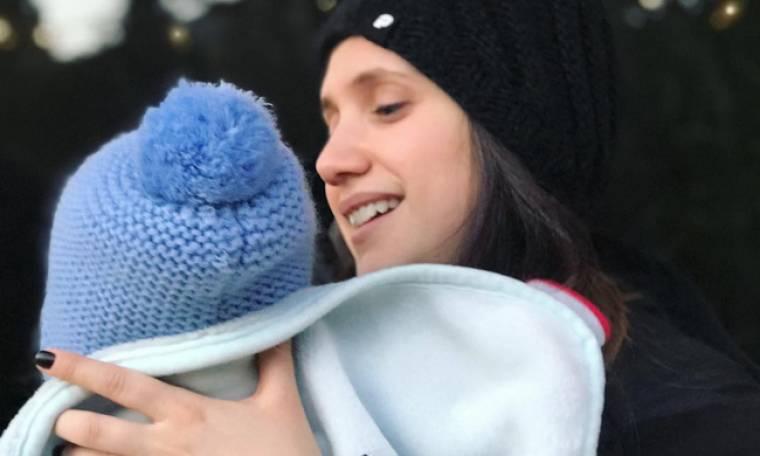 Λυδία Παπαϊωάννου: H πρώτη φωτό με τον γιο της για το 2019