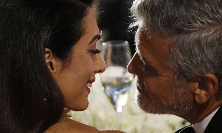 Ευχάριστα νέα για τον George Clooney και τη σύζυγό του Amal