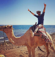 Ο Κώστας Αγέρης στην Αίγυπτο!