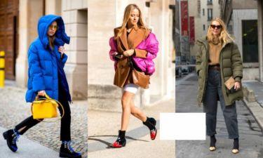 Puffy coats: 20 τρόποι για να φορέσεις το πιο δημοφιλές casual πανωφόρι του χειμώνα