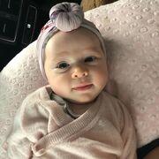 Αυτό το πανέμορφο μωράκι είναι κόρη πασίγνωστου μοντέλου!