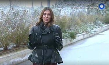 Σταματίνα Τσιμτσιλή: «Ξεκινώντας από το σπίτι, είδα πολύ χιόνι… φοβήθηκα»
