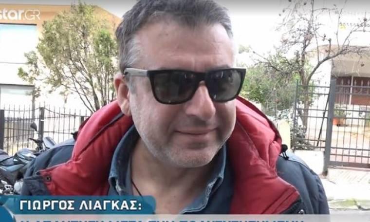 Γιώργος Λιάγκας: «Είμαι υπάλληλος και θα περιμένω να λήξει το συμβόλαιό μου με τον ΑΝΤ1»