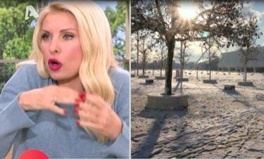 Ελένη: Ο διάλογος με το παιδί της – Της ζήτησε  να κάνει κοπάνα για να παίξουν με το χιόνι