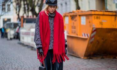 27 ιδέες για να φορέσεις το χοντρό κασκόλ σου με στιλ μέσα στο καταχείμωνο