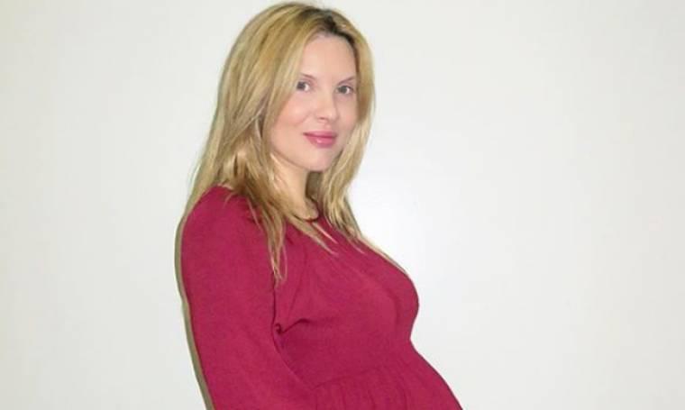 Γέννησε η Χριστίνα Αλούπη