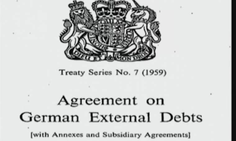 Πως χαρίστηκαν στην Γερμανία από τα αιματοβαμμένα της χρέη το 1953