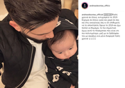 Ανδρέας Λέοντας: O πρώην παίκτης του X-Factor δείχνει για πρώτη φορά το πρόσωπο του γιου του!