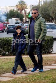 Γιώργος Λιάγκας: Χαλαρές στιγμές με τον μεγάλο του γιο!