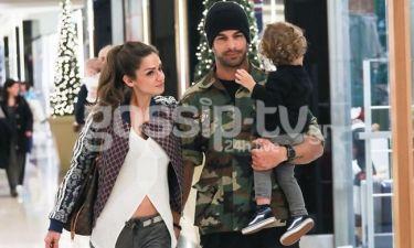Νίκος Αναδιώτης: Για ψώνια με τη σύζυγό του και τον γιο του