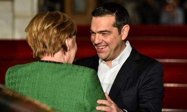 Τσίπρας σε Μέρκελ: Έρχεστε σε μια διαφορετική Ελλάδα που έχει ξεπεράσει την κρίση (pics)