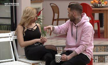 Power of Love: Ο Βασίλης δίνει εξηγήσεις στην Έλενα!