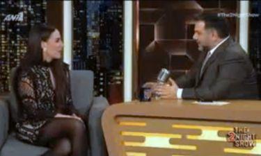 The 2night Show: Δεν φαντάζεστε πώς ονομάζεται ο γιος της Μαλού Κυριακοπούλου! (vid)