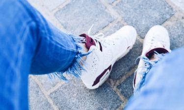6 τρόποι για να καθαρίσεις τα sneakers σου