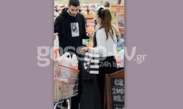 Άννα Πρέλεβιτς: Για ψώνια στο σούπερ μάρκετ με τον αγαπημένο της