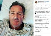 Σοκ με τη φωτογραφία που πόσταρε γνωστός παρουσιαστής από το νοσοκομείο!