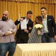 Ο Ουγγαρέζος έγινε κουμπάρος στο γάμο στενής του συνεργάτιδας! (pics)